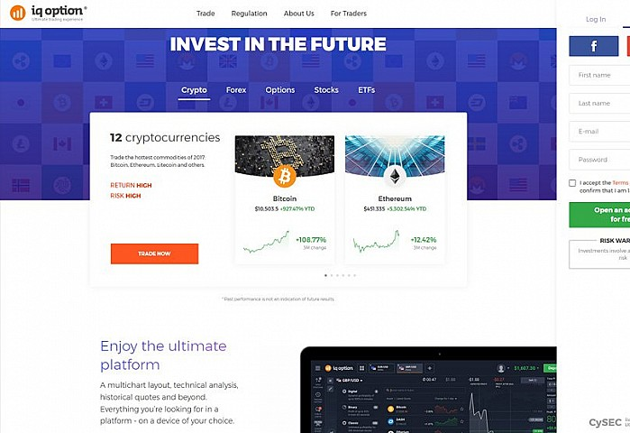 Iq option crypto exchange
