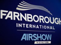 Airbus and Boeing at Farnborough Show