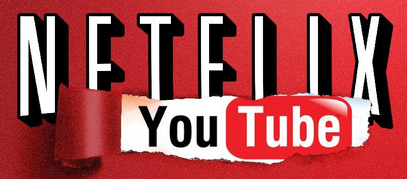 Netflix competes Youtube