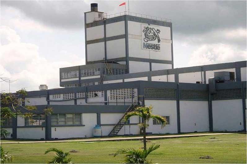 the multinational company Nestlé stock