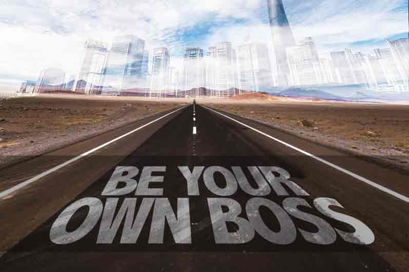 Own business, be your own boss and be creative!