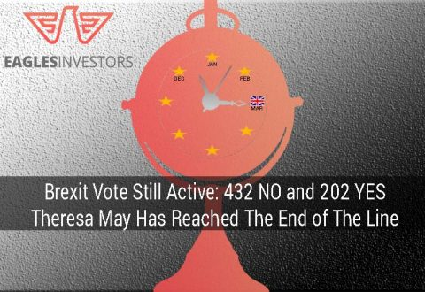 Brexit Vote Still Active: 432 NO and 202 YES, Theresa May Has Reached The End of The Line