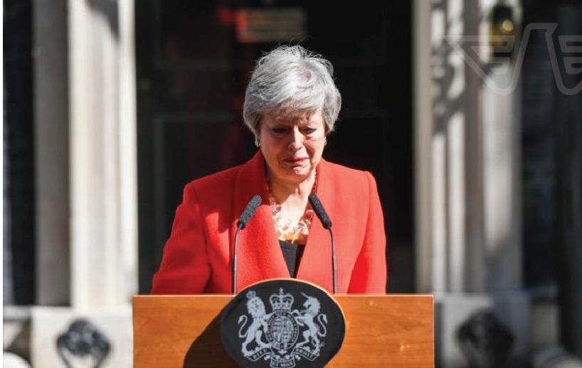 Theresa May resignation